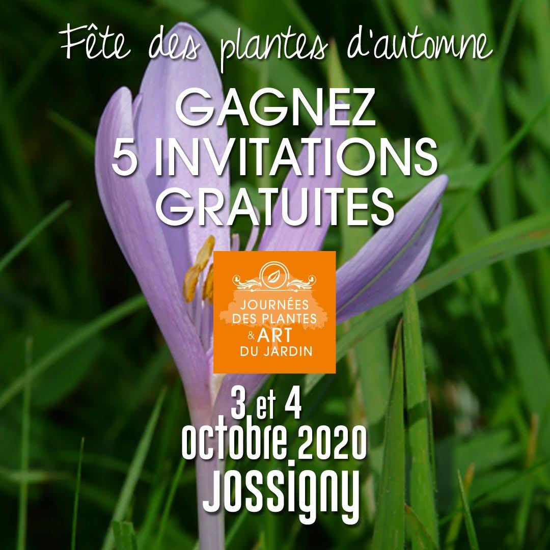 Invitation gratuite pour Jossigny : tentez votre chance !