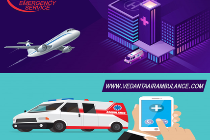 Air Ambulance Service in Ranchi-Vedanta-The Reliable Source of Medical Facilities