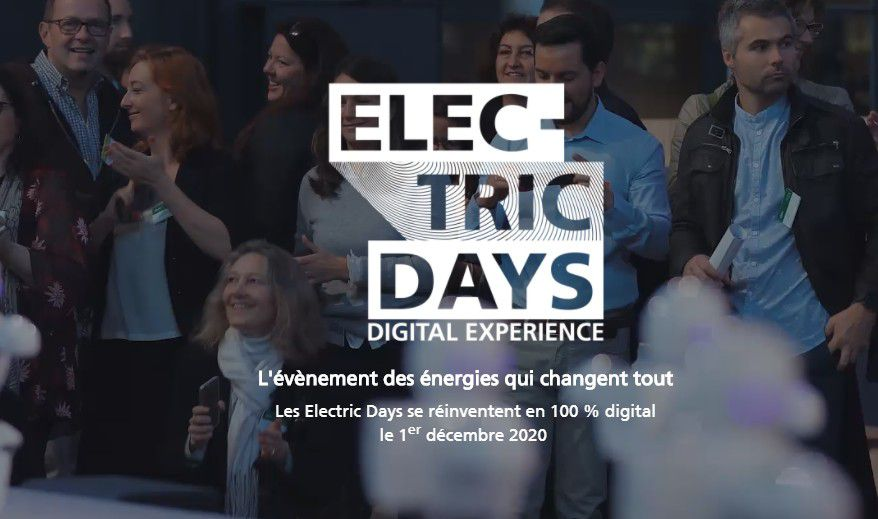 Marketing Event : Electric-Days, le 1er décembre 2020