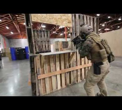 CQB CITY AIRSOFT ACTION February 9th 2013