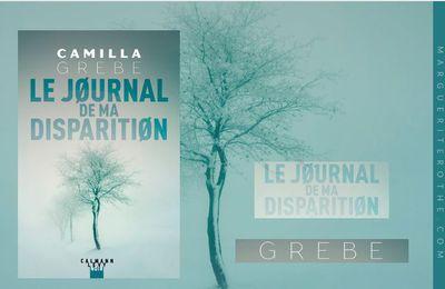 Le journal de ma disparition, un polar de Camilla Grebe