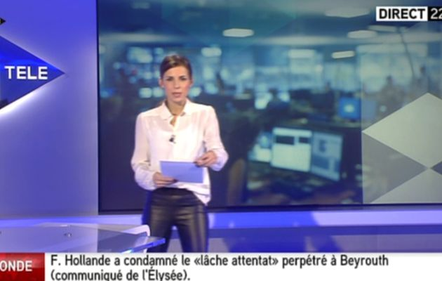 2013 12 27 - 22H00 - ALICE DARFEUILLE - ITELE - INTEGRALE WEEK-END
