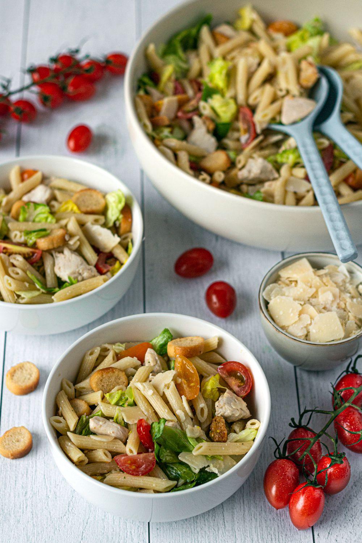 salade pate façon cesar