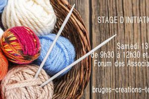 STAGE D'INITIATION AU TRICOT samedi 13 octobre