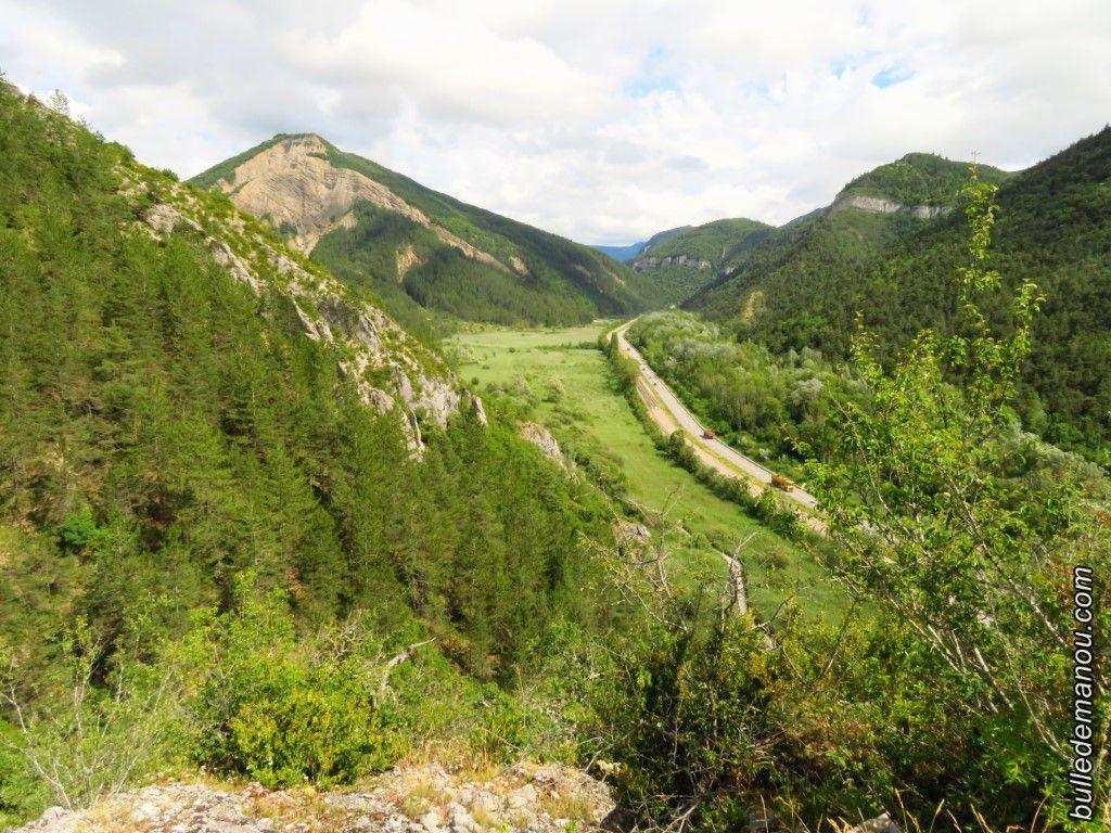 Le Marais des Bouligons, vu des Tours de Rochebrianne