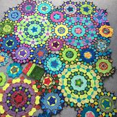 Wendy's quilts and more: More of my la passacaglia