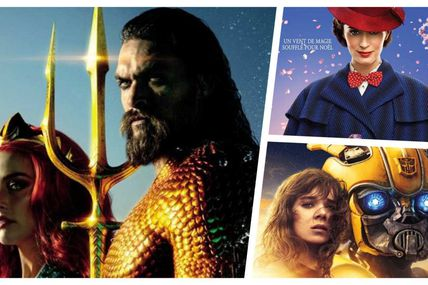 BOX-OFFICE 21-23 DECEMBRE : AQUAMAN SURCLASSE BUMBLEBEE ET MARY POPPINS !