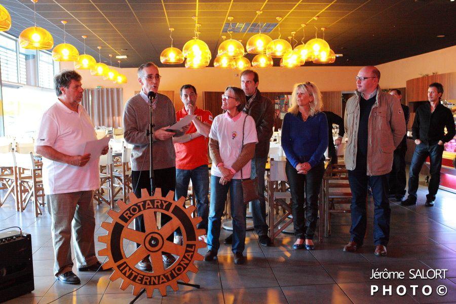 Journée Ferrari organisée par le Rotary Club de Muret au restaurant la Rôtisserie le samedi 20 avril 2013