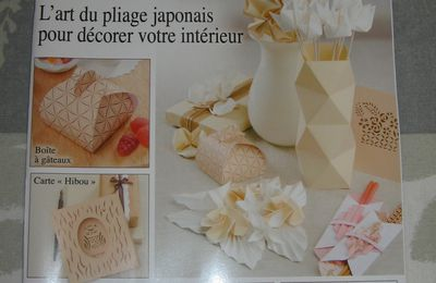 A vendre : magazines d'origami