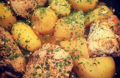 Paupiettes de dinde à la moutarde au pain d'épices