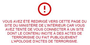 Le nouveau délit de consultation habituelle de sites terroristes approuvé par la CMP sera débattu le 19 mai à l'Assemblée nationale