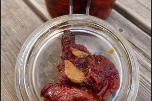 Tomates séchées à l'huile d'olive ou confites