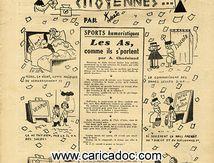 «Aux urnes citoyennes», L'As de pique humour et sports, 15/11/1946.