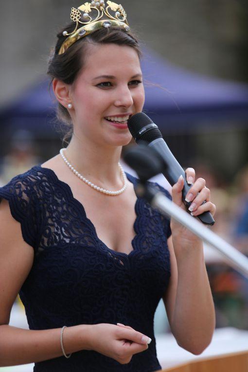 Fränkische Weinkönigin Christina Schneider