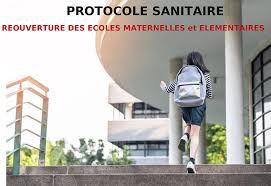 Protocole sanitaire rentrée 2 novembre 2020 (résumé)
