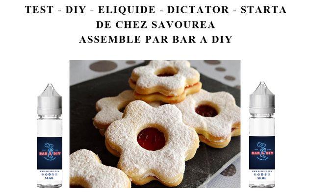 Test - Eliquide - Starta gamme Dictator de chez Savourea