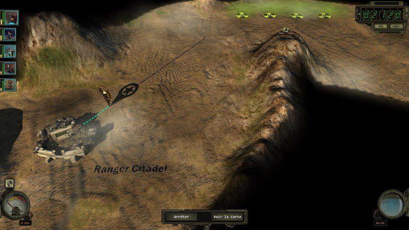 Captures d'écran au début de l'aventure