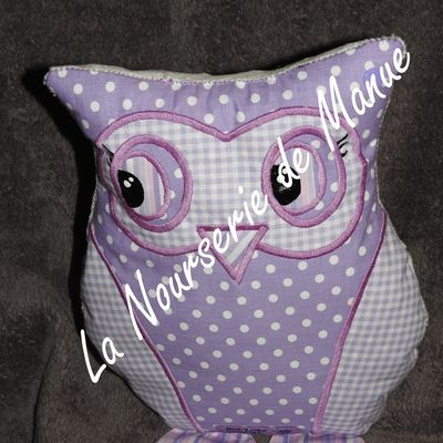 coussin chouette 21
