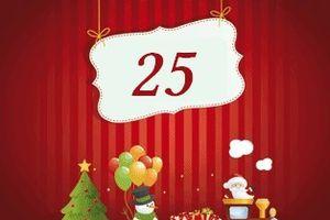 Echange de l'Avent .... 25 décembre ... tuto -échange de l'avent