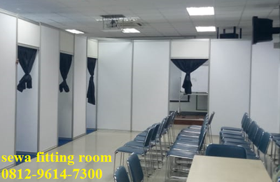 Panel R8, Partisi Pameran, Fitting Room Jakarta