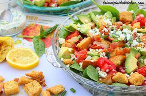 Cobb Salad {Salade Cobb}