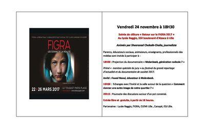 FIGRA 2017 : un documentaire sur Molenbeek et un débat au lycée Baggio le 24 novembre
