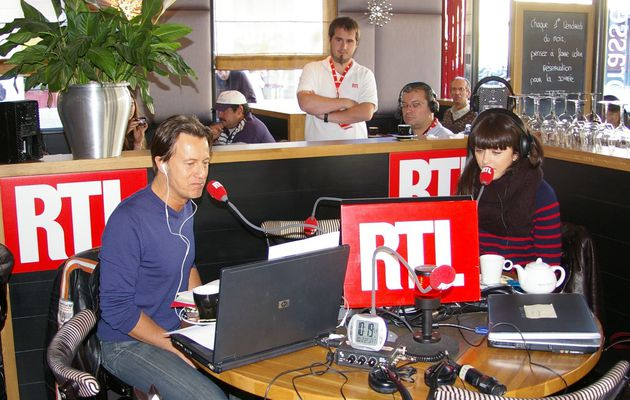 PHOTOS RTL ET NOLWENN LEROY EN DIRECT DE RENNES