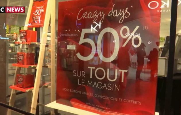 Lille : Les commerçants attendent les soldes avec impatience