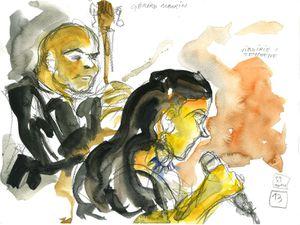 Virginie Teychené (L'Ecoutille, Festival Jazz en Chantereine, 22 novembre 2014)