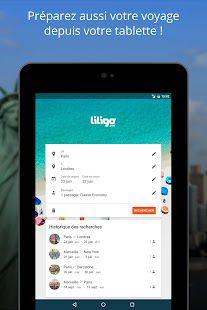 Mobile : Nouvelle appli android Liligo.com