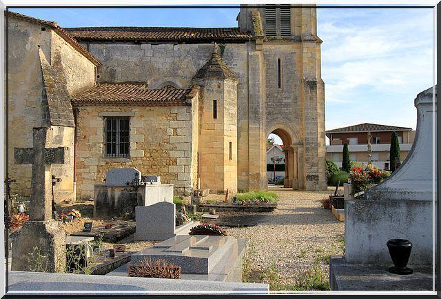 Diaporama église fortifiée de Sadirac
