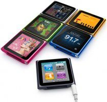 The ipod nano (6 grammes!!) :3