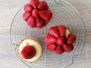 Pas à pas : tartelettes aux fraises, crème pâtissière et pâte sablée
