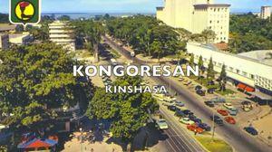 Carte postale de Kinshasa
