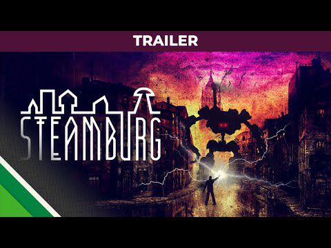 ACTUALITE : #Steamburg un puzzle/aventure disponible sur #Steam