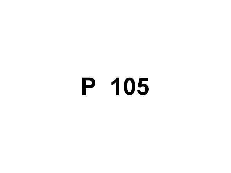 P 105 , pilotine du port de Fos sur Mer / Lavera