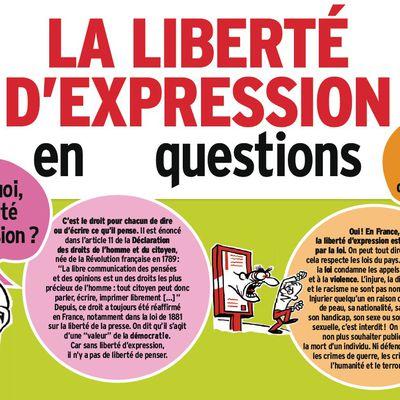La liberté d'expression c'est quoi ?