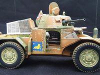 Char Panhard AMD 178  1940 échelle 1/35, AMD-35 séries tardives 2ème GRDI 4ème peloton 1940.  ICM - AZIMUT productions-HISTOTIC
