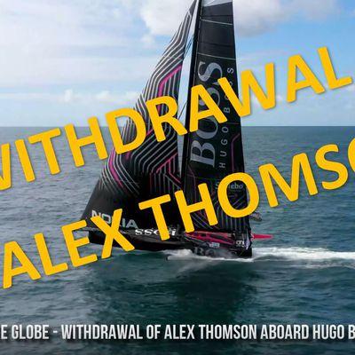 Vendee Globe 2020 - withdrawal of Alex Thomson aboard Hugo Boss
