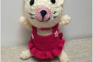 the serial crocheteuses & more n° 388 : Kitty cat