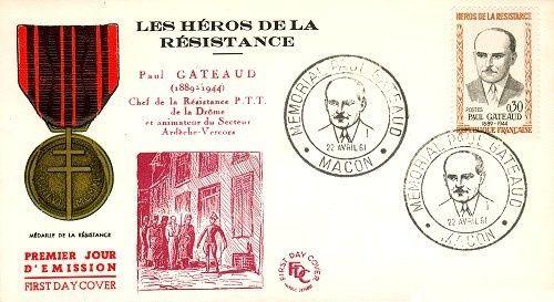 L'hommage du monde philatélique envers la Résistance.