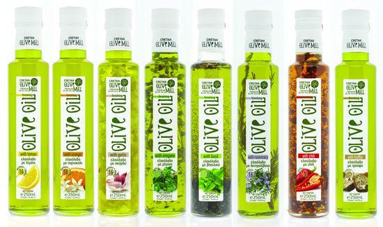 Huiles aromatisées par Cretan Olive Oil