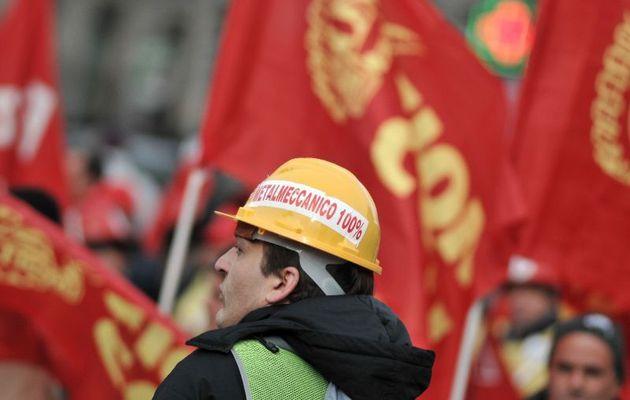 Près d'1 million de métallurgistes dans les rues de Rome à l'appel de leur syndicat de classe pour leurs conditions de travail et pour préparer les conditions de la grève générale
