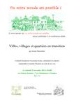 Les Initiatives de Transition : Redynamiser l'économie locale, préparer un avenir meilleur et retrouver du sens dans nos vies... une conférence à Enghien