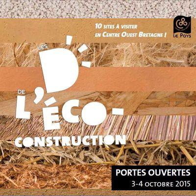 Portes ouvertes et visites de chantier les 3 et 4 octobre 2015 en centre Bretagne