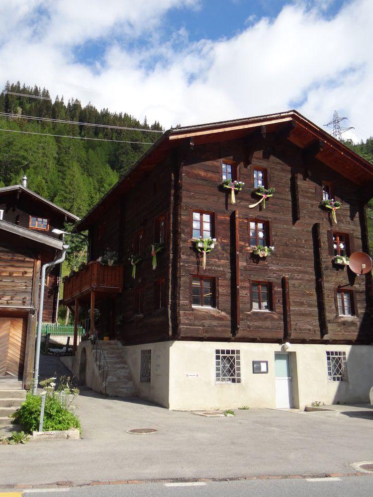 Oberwald, dans le canton du Valais en Suisse...