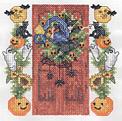 Tutoriel Broderie - Porte fleurie Octobre - Passionnement Créative