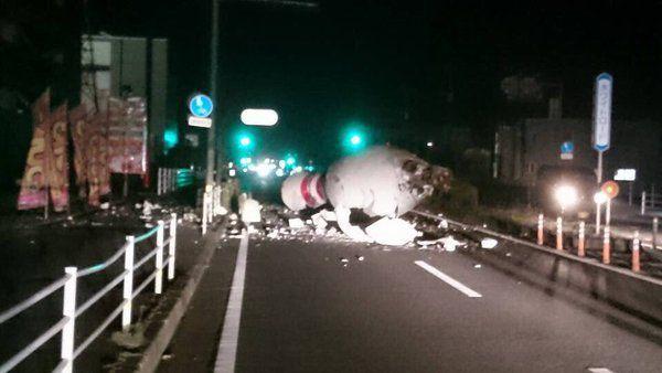 Japon: Suite au séisme, une étrange mousse blanche est apparue à Fukuoka