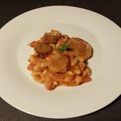 haricots coco et saucisse au four de Cyril Lignac dans tous en cuisine - Mes Meilleures Recettes Faciles