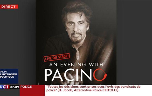 Théâtre à Paris : 950 euros pour assister au spectacle d'Al Pacino